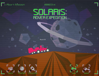 SISGAIN Developed Game APP Solaris - Rover Expedition