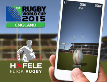 SISGAIN Developed Game APP Hafele Flick Rugby
