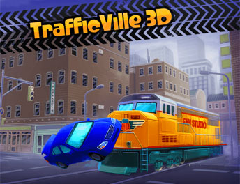 SISGAIN Developed Game APP TrafficVille 3D