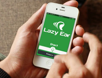 Mobile App Developed for Lazy Ear