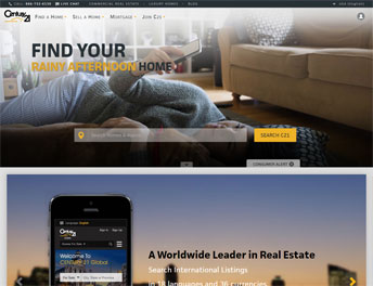 Web Application Developed for Century 21