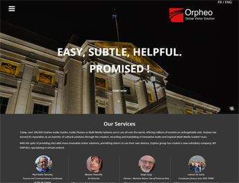 Web Application Developed forOrpheo Canada