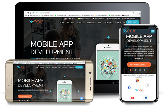 Mobile App Development Company - Custom App development Company dubai