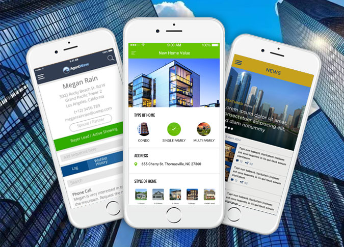 Custom App and web Application for Real Estate