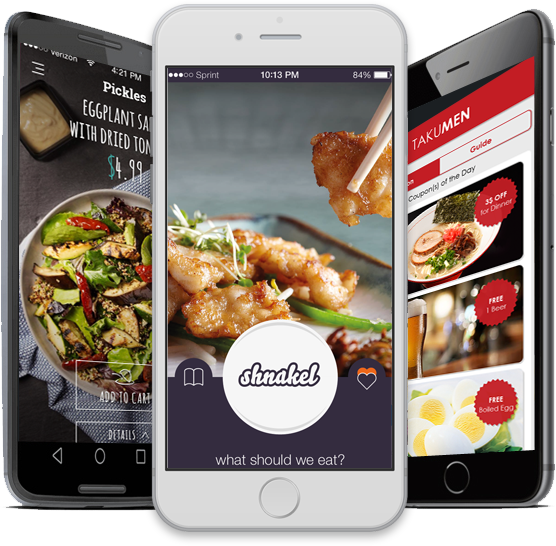 Custom App and web Application for Restaurant